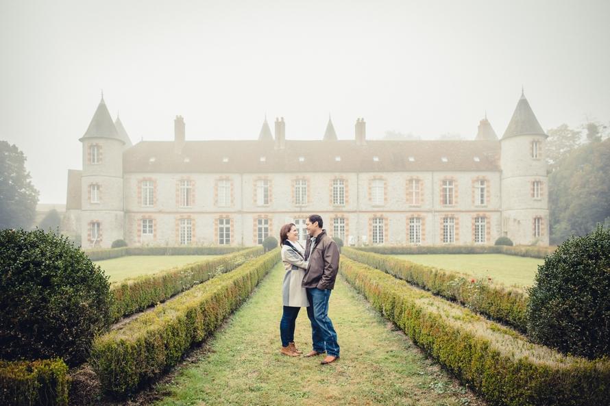 Destination wedding in France French chateau