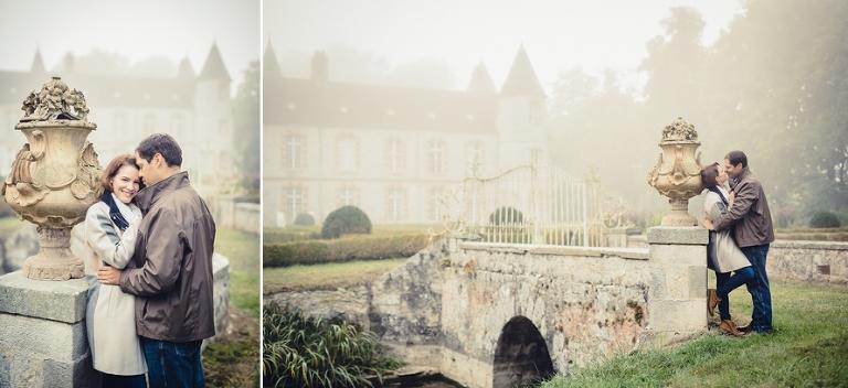 Destination wedding in France French castle