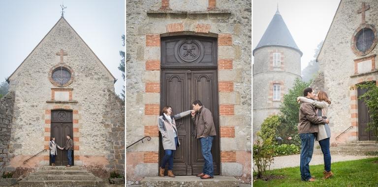 Destination wedding in France wedding chapel