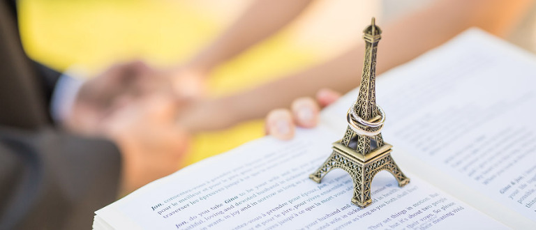 paris officiant eiffel tower