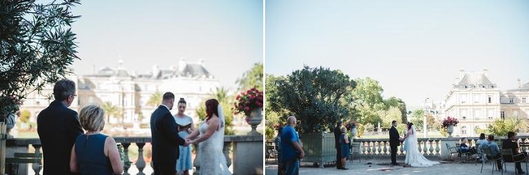 Destination elopement in Paris wedding ceremony