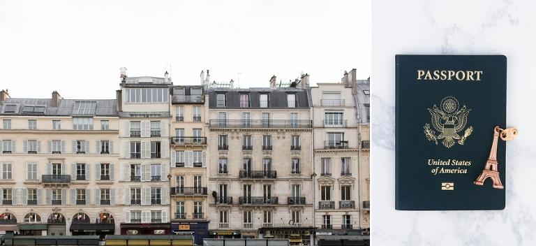 Paris elopement Seine rive