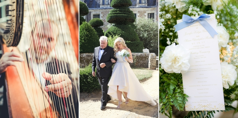 french chateau wedding paris officiant