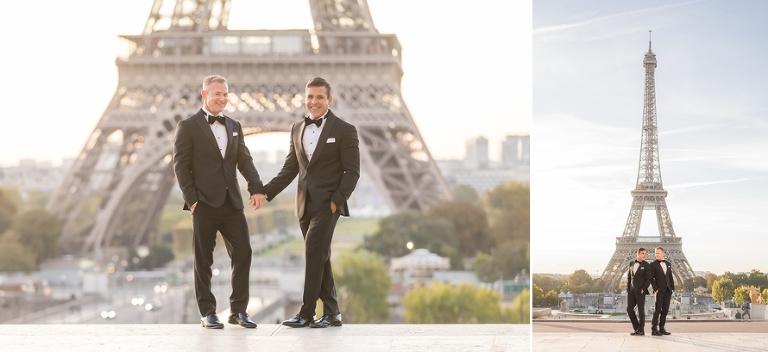 gay wedding in paris trocadero