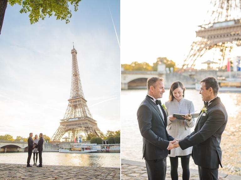 gay wedding in paris eiffel tower