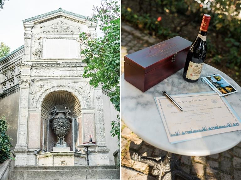 Paris vow renewal ceremony venue