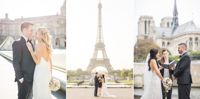 Paris Elopement Packages