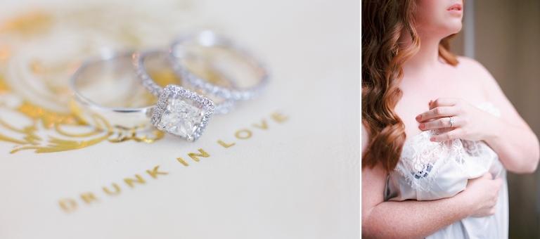 Dream wedding in Paris wedding rings