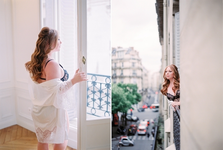 Dream wedding in Paris boudoir