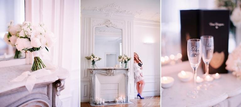 Dream wedding in Paris detail shots