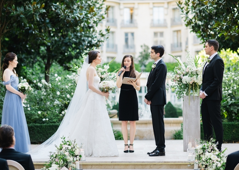 Intimate wedding in Paris at the hotel Ritz - The Paris Officiant